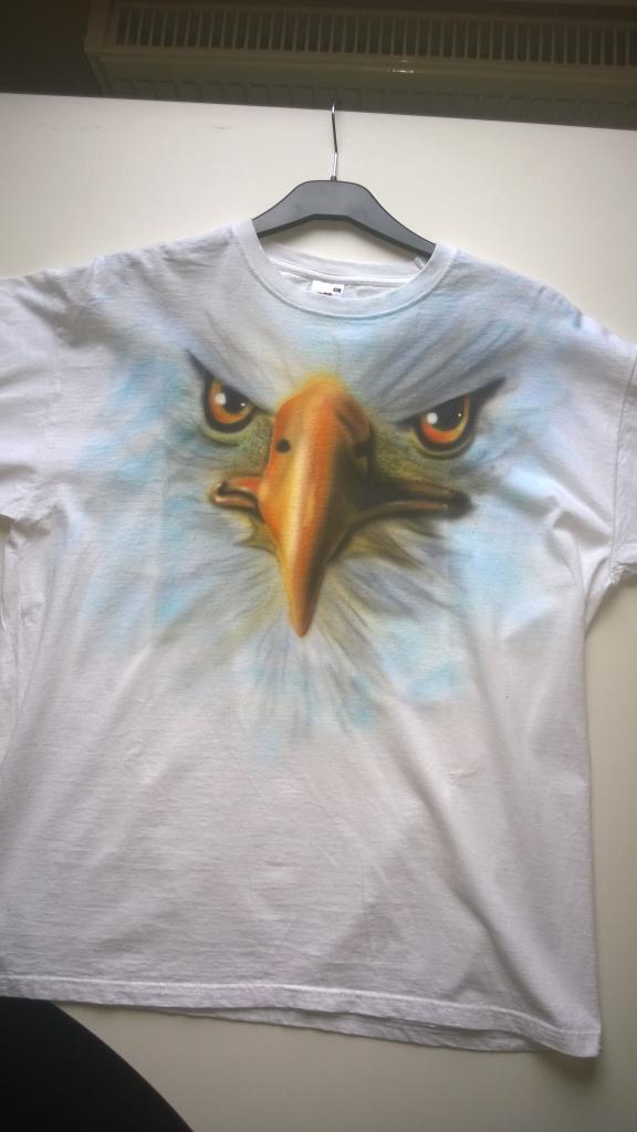 T-Shirt mit Weißkopfadler